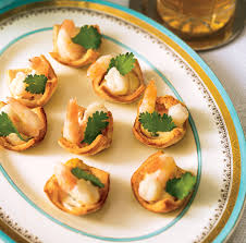 canapé cocktail shrimp cocktail canapes canadian living