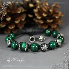 shamballa bracelet handmade images Shamballa bracelet shamballa quot malachite quot shop online on jpg