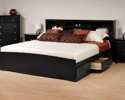 queen storage bed with bookcase headboard u2013 clandestin info