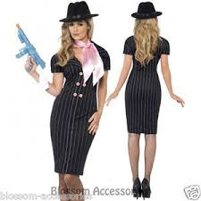 Mafia Halloween Costume Cl187 Gangster U0027s Moll Costume Mafia Moll Womens 1920 U0027s Razzle
