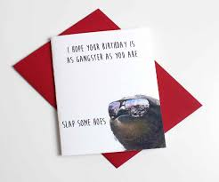 gangster birthday cards where to buy graduation invitations