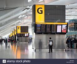 Heathrow Terminal 3 Information Desk Heathrow Airport Check In Stock Photos U0026 Heathrow Airport Check In