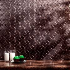 fasade 24 in x 18 in hammered pvc decorative backsplash panel in