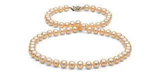 real pink pearl necklace images Freshwater pearl necklace free returns free shipping no nonsense jpg