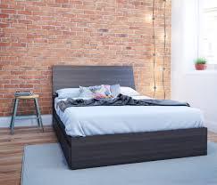 full size storage headboard amazon com nexera 225430 allure full size storage bed ebony