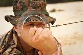 recon native plants polishing perishable skills 4th force recon marines dive to train