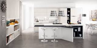 decorations minimalist design of white kitchen with double