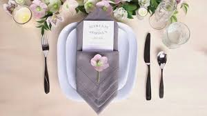 how to fold napkins for a wedding table setting tips menu napkin folds pouch fold