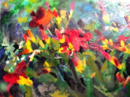Day Lillies Encaustic U2014 Marti Higgins Art