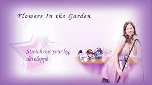flowers in the garden lyric video youtube