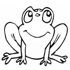 best photos of frog template printable simple frog template