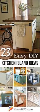 how to make an island for your kitchen 23 best diy kitchen island ideas and designs for 2017