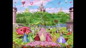 Popular Characters Murals Roommates Kids Murals Character Themed Wallpaper Murals Princess Murals