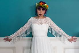 colourful u0026 quirky wedding dresses for non traditional brides