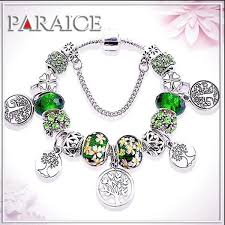bead bracelet charm images Bead bracelet charm sterling silver with crystal tree of life jpg