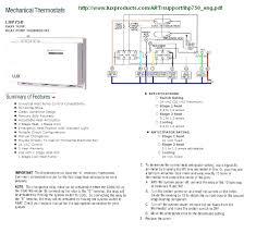 american standard thermostat wiring diagram efcaviation com inside