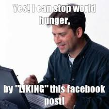 Facebook Post Meme - like this and stop dumb facebook posts meme by mybigtyrano