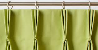 How To Measure For Pinch Pleat Drapes A Guide To Styles Of Curtain Headings