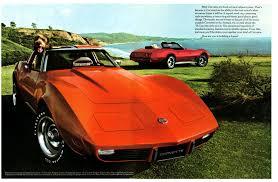 corvette manufacturer 1975 corvette specs colors facts history and performance