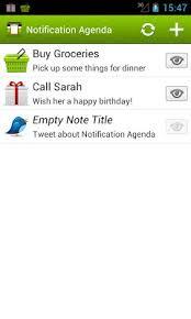 agenda apk notification agenda apk for android