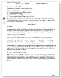 irs 1041 tax audit notice sample