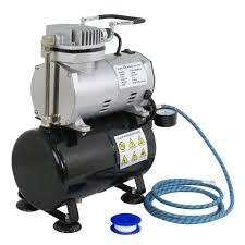 zeny tc 20t oil less portable air compressor w 3l tank 6ft hose