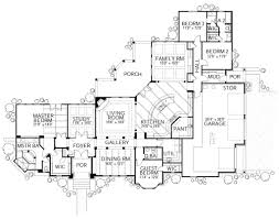 european style house plan 4 beds 3 baths 3336 sq ft plan 80 194