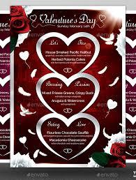 41 valentines menu templates u2013 free psd eps format download