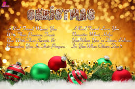 Christmas Poems About Friendship With Cards Pictures Tis The