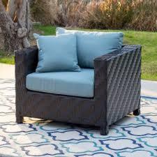 Patio Club Chairs Resin Wicker Lounge Chairs Hayneedle