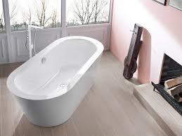Bette Bathtubs Bette Starlet Oval Silhouette Enamel Steel Freestanding Bath