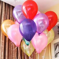 baloons delivered new 10inch 1 2g pcs balloon helium thickening pearl