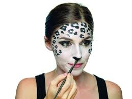 Snow Leopard Halloween Costume Snow Leopard Makeup Extract Daily Face Annamarie