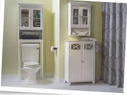 Above Toilet Storage Bathroom Over Commode Shelf Espresso Cool Features 2017 Bathroom