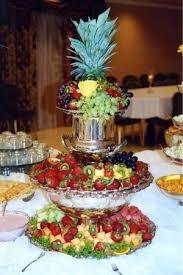 food tables at wedding reception wedding reception fruit table wedding desserts pinterest