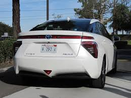 hydrogen fuel cell car toyota image 2016 toyota mirai hydrogen fuel cell car newport beach ca