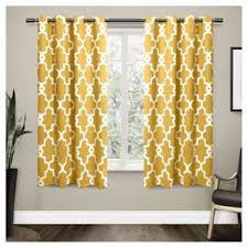 Teal And Yellow Curtains Mustard Yellow Curtains Target
