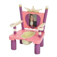 Toddler Wooden Chair Princess Potty Training Chair By Levels Of Discovery