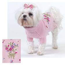 dog ribbon ribbon bouquet dog sweater
