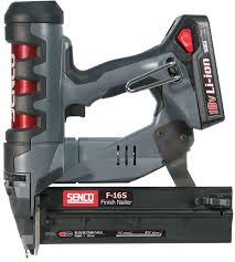 Battery Roofing Nailer by Senco Fusion F 16s Cordless 16 Gauge Finish Nailer Nail Gun Depot