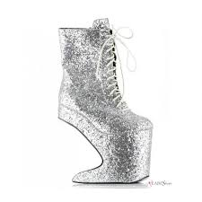 Glitter Home Decor Chablis Silver Glitter Heeless Ankle Boot 900x900 Jpg