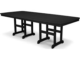 Polywood Furniture Dealers Polywood Nautical Recycled Plastic 96 X 44 Dining Table Nct4496