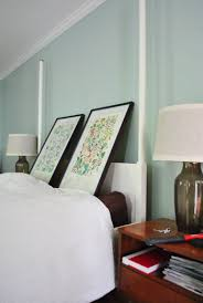 Hanging Prints Spacing Out And Hanging Two Pictures Over The Bed Young House Love