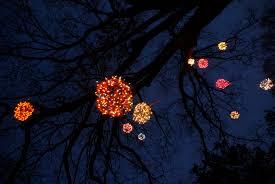 christmas light balls for trees