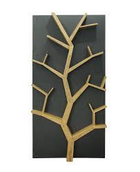 dexter wood wall tree shelf