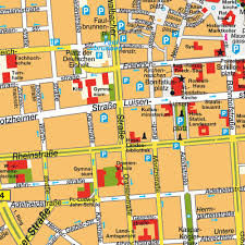 Germany Europe Map by Map Wiesbaden Germany City Center Central Downtown Maps And