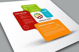 company profile template presentation templates creative market