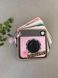5x5 photo book mini photo album shaped valentines album ring