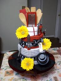 bridal shower craft ideas dish towel cake i made for a bridal