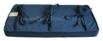 piano bench cushions